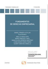 (3 ED) FUNDAMENTOS DE DERECHO EMPRESARIAL (DUO)