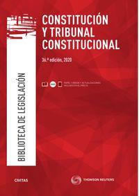 (36 ed) constitucion y tribunal constitucional (duo) - Aa. Vv.