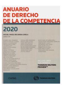 ANUARIO DE DERECHO DE LA COMPETENCIA 2020 (DUO)