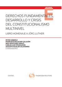 DERECHOS FUNDAMENTALES, DESARROLLO Y CRISIS DEL CONSTITUCIONALISMO MULTINIVEL (SOLO PAPEL)
