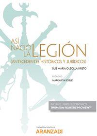 ASI NACIO LA LEGION (DUO)