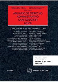 ANUARIO DE DERECHO ADMINISTRATIVO SANCIONADOR 2021 (DUO)