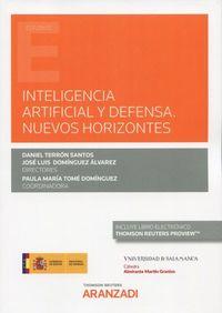 inteligencia artificial y defensa - nuevos horizontes (duo) - Daniel Terron Santos (ed. )
