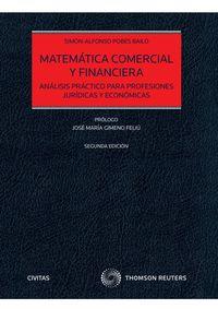 (2 ED) MATEMATICA COMERCIAL Y FINANCIERA