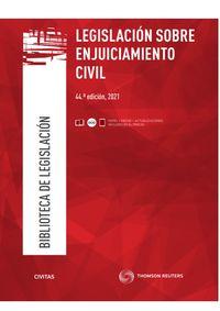 (44 ED) LEGISLACION SOBRE ENJUICIAMIENTO CIVIL (DUO)