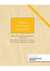 (12 ED) MANUAL DE DERECHO INFORMATICO (DUO)