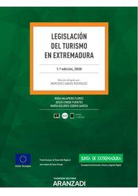 LEGISLACION DEL TURISMO EN EXTREMADURA (DUO)