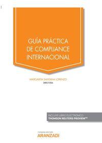 Guia Practica De Compliance Internacional (duo) - Margarita Santana Lorenzo (ed. )