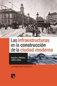 INFRAESTRUCTURAS EN LA CONSTRUCCION DE LA CIUDAD MODERNA, LAS