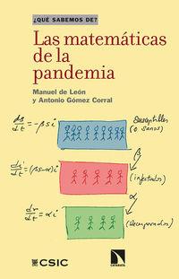 MATEMATICAS DE LA PANDEMIA, LAS