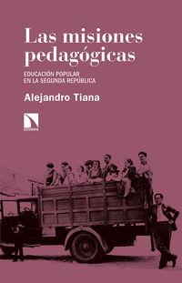 MISIONES PEDAGOGICAS, LAS - EDUCACION POPULAR EN LA SEGUNDA REPUBLICA