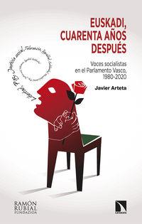 EUSKADI, CUARENTA AÑOS DESPUES - VOCES SOCIALISTAS EN EL PARLAMENTO VASCO, 1980-2020