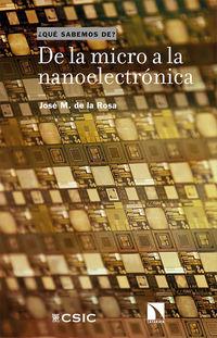DE LA MICRO A LA NANOELECTRONICA - IMPULSANDO LA TRANSFORMACION DIGITAL