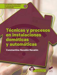 GS - TECNICAS Y PROCESOS EN INSTALACIONES DOMOTICAS Y AUTOMATICAS