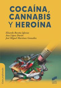 COCAINA, CANNABIS Y HEROINA
