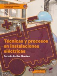 GS - TECNICAS Y PROCESOS EN INSTALACIONES ELECTRICAS