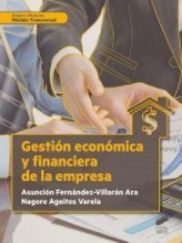 GS - GESTION ECONOMICA Y FINANCIERA DE LA EMPRESA