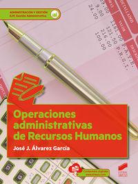 GM - OPERACIONES ADMINISTRATIVAS DE RECURSOS HUMANOS