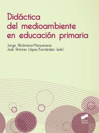 DIDACTICA DEL MEDIOAMBIENTE EN EDUCACION PRIMARIA