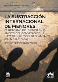 SUSTRACCION INTERNACIONAL DE MENORES, LA: EL RETORNO DEL MENOR EN EL AMBITO DEL CONVENIO DE LA HAYA DE 1980 Y DEL REGLAMENTO (CE) N. º 2201 / 2003