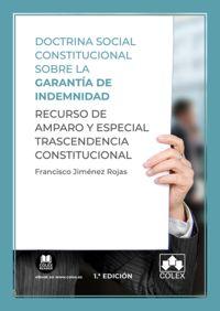 DOCTRINA SOCIAL CONSTITUCIONAL SOBRE LA GARANTIA DE INDEMNIDAD - RECURSO DE AMPARO Y ESPECIAL TRASCENDENCIA CONSTITUCIONAL
