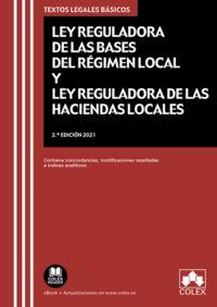 (2 ed) ley reguladora de las bases del regimen local y ley reguladora de las haciendas locales - Aa. Vv.