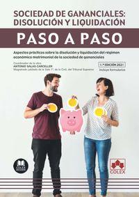 SOCIEDAD DE GANANCIALES - DISOLUCION Y LIQUIDACOIN