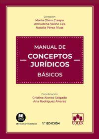 manual de conceptos juridicos basicos - Cristina Alonso Salgado