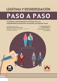 LEGITIMA Y DESHEREDACION - PASO A PASO