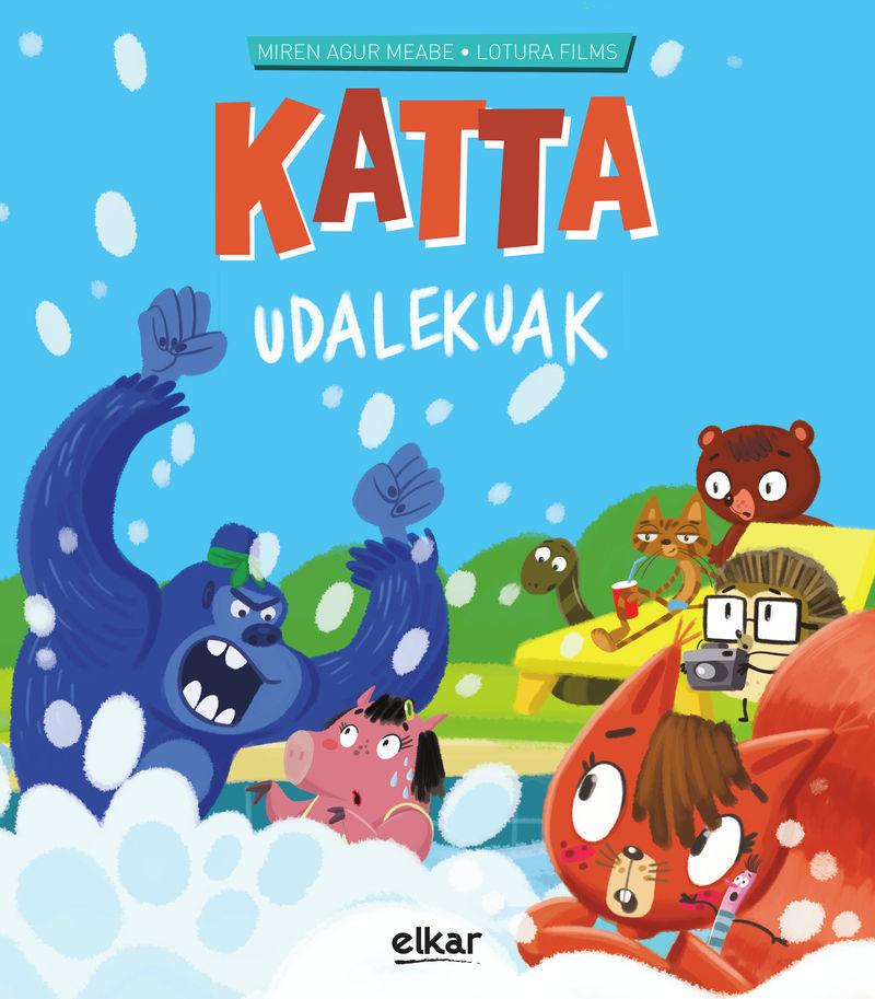 Katta Udalekuak - Katta 7 - Miren Agur Meabe Plaza / Lotura Films (il. )