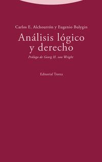 analisis logico y derecho - Carlos E. Alchourron / Eugenio Bulygin