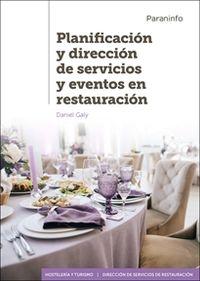 GS - PLANIFICACION Y DIRECCION DE SERVICIOS Y EVENTOS EN RESTAURACION