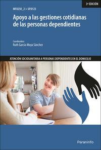CP - APOYO A LAS GESTIONES COTIDIANAS DE LAS PERSONAS DEPENDIENTES (UF0123)