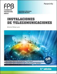 (2 ED) FPB - INSTALACIONES DE TELECOMUNICACIONES