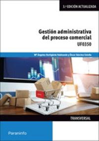 CP - GESTION ADMINISTRATIVA DEL PROCESO COMERCIAL - UF0350