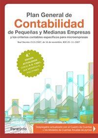 (4 ED) PLAN GENERAL DE CONTABILIDAD DE PEQUEÑAS Y MEDIANAS EMPRESAS