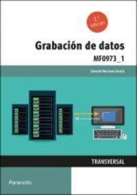 CP - GRABACION DE DATOS - MF0973_1