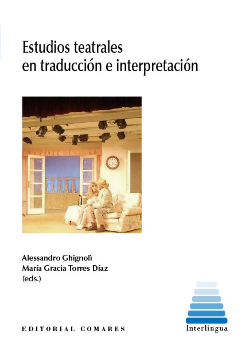 ESTUDIOS TEATRALES EN TRADUCCION E INTERPRETACION