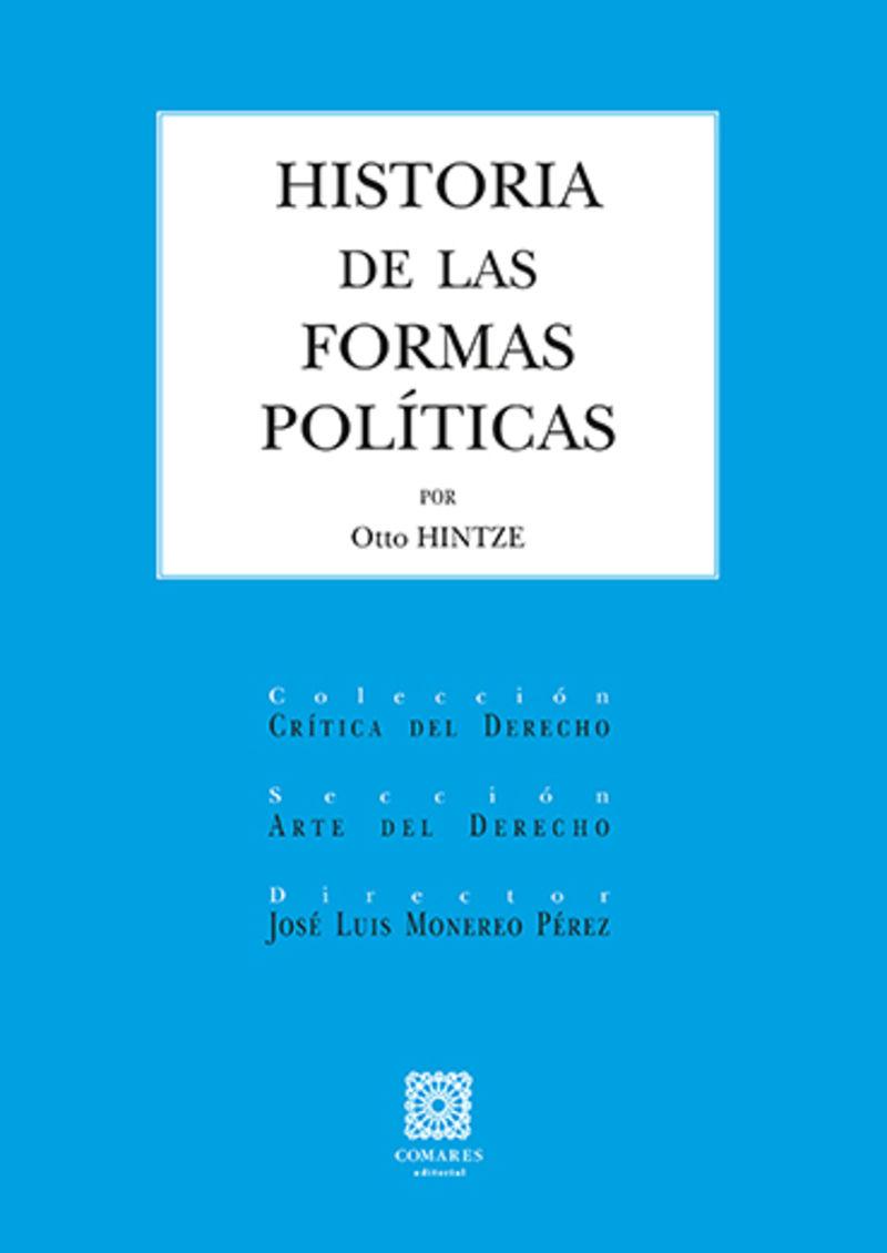 HISTORIA DE LAS FORMAS POLITICAS