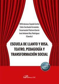 ESCUELA DE LLANTO Y RISA - TEATRO, PEDAGOGIA Y TRANSFORMACION SOCIAL