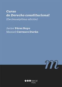 (17 ED) CURSO DE DERECHO CONSTITUCIONAL