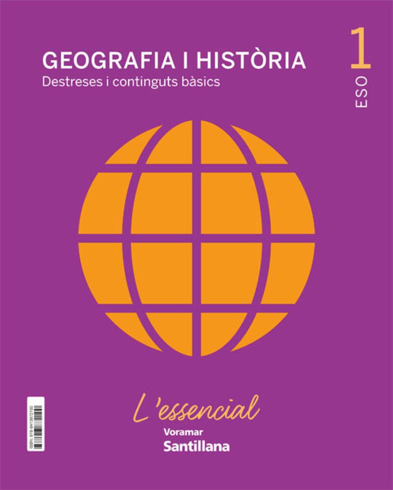 ESO 1 - GEOGRAFIA I HISTORIA (C. VAL) - L'ESSENCIAL