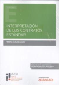 INTERPRETACION DE LOS CONTRATOS ESTANDAR (DUO)