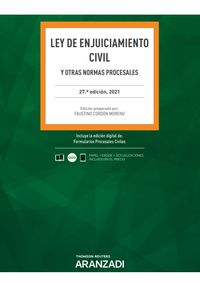 (27 ED) LEY DE ENJUICIAMIENTO CIVIL (DUO)