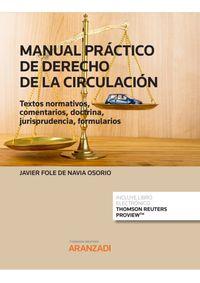MANUAL PRACTICO DE DERECHO DE LA CIRCULACION (DUO)