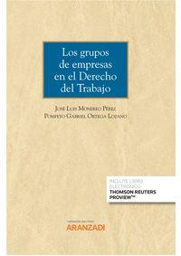 GRUPOS DE EMPRESAS EN EL DERECHO DEL TRABAJO, LOS (DUO)