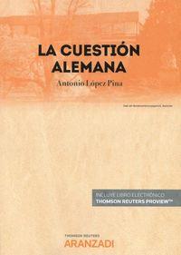 LA CUESTION ALEMANA (DUO)