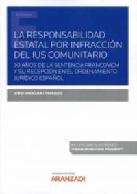 LA RESPONSABILIDAD ESTATAL POR INFRACCION DEL IUS COMUNITARIO (DUO)