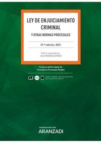 (27 ED) LEY DE ENJUICIAMIENTO CRIMINAL (DUO)
