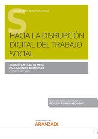 HACIA LA DISRUPCION DIGITAL DEL TRABAJO SOCIAL (DUO)